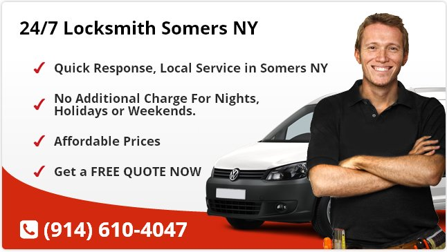 24 Hour Locksmith Somers